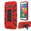 Insten Hybrid Hard Case For Samsung Galaxy Grand Prime Red/black