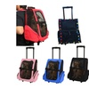 Portable Comfortable Pet Dog Cat Rolling Backpack Travel Carrier Troll