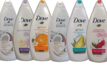 Dove Body Wash Shower Gel (6-Pack)