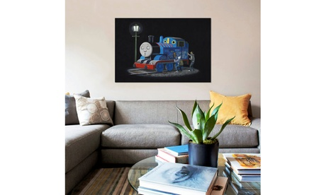 Thomas The Tank Engine by Banksy b5adfbf7-eb2e-4470-a196-e4ae5e53fc8b