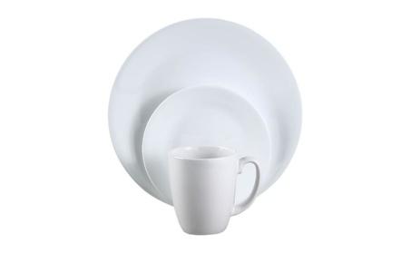 Corelle 6022003 Livingware Winter Frost White Dinnerware Set, 16 Piece 6f587a53-dc9d-4ae3-9f0b-cf58b854fc89
