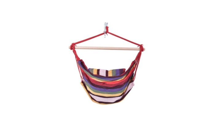 best rope chair porch swing seat patio camp furniture hammock hanging best rope chair porch swing seat patio camp furniture hammock      rh   groupon