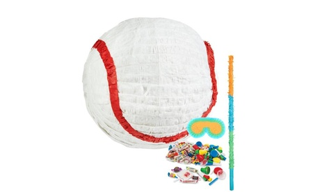 Baseball Pinata Kit Party Supplies a59cb35d-3712-46a0-b9f5-98c502fc4142