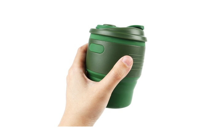 Collapsible Coffee Accessories Silicone Portable Boil Tea Cup Pot