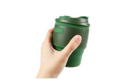 Collapsible Cup, Silicone Portable Coffee Tea Water Cups 3c71e570-81af-4545-ad96-c44ee6ed35e1