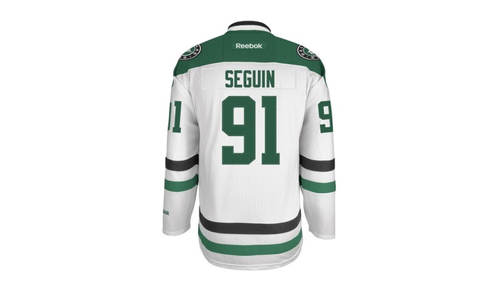 super popular 34aa9 c57c0 Mens Dallas Stars Tyler Seguin #91 White Premier Jersey