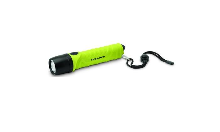 Cyclops 700 Lumen LED Flashlight w/Emergency Breaker