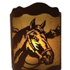 Rivers Edge Products 10 X 13 Horse Wall Light