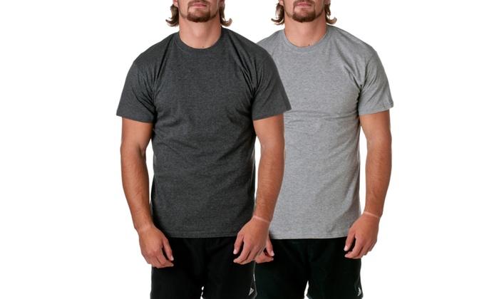 Hanes Mens ComfortSoft Undershirt Tees 2-Pack C