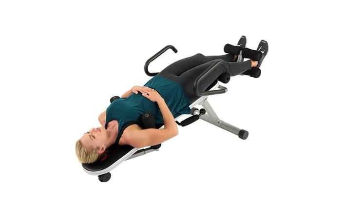 Beau Sunny Health U0026 Fitness Invert Extend N Go Multi Use Inversion Table ...