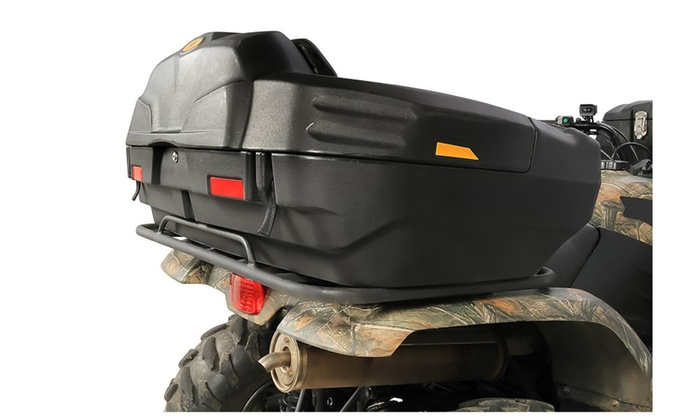 Camco 66010 Black Boar ATV Rear Storage Box And Lounger ...