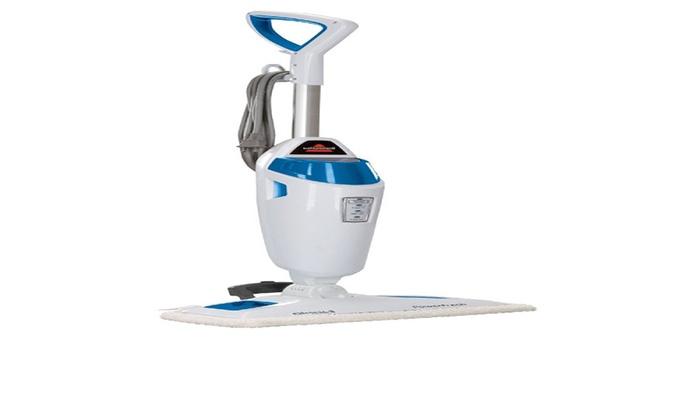 Bissell PowerFresh Steam Mop Hard Floor Steam Cleaner Blue - Cheap floor steam cleaners