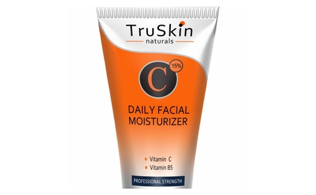 TruSkin Naturals Vitamin C Moisturizer Cream for Face 2oz