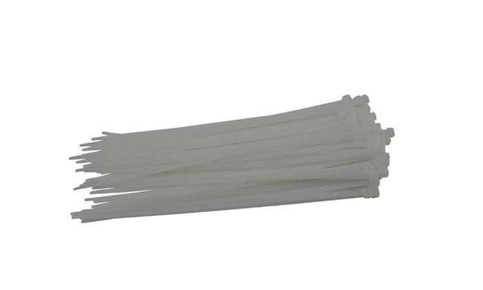 Heavy Duty White Nylon Cable Ties Wire Zip