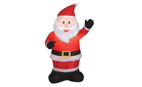 Gemmy 87644 Airblown Outdoor Santa Claus, 4' 4e0e0271-620f-46cd-b711-69a4e186be6e