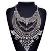 New Fashion Statement Necklace Maxi Necklaces Rhinestone Pendant Alloy