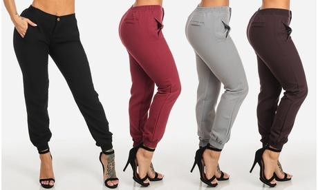 Women's Junior Size Cargo Jogger Pants 524ab7cb-b0b7-4ae6-895d-3d809124b655