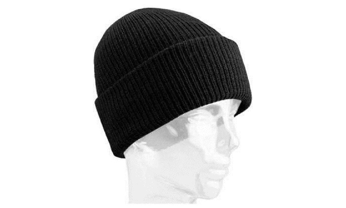 Wigwam Mills F4707-052-OS Black 100 Percent Worsted Wool Watch Cap ... 99e5140e3c8