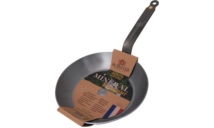 Mineral B Element Iron 10.2 Inch Round Frypan   Groupon