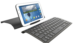Zagg Wireless Keyboard with Case for Bluetooth Smartphones and Tablets