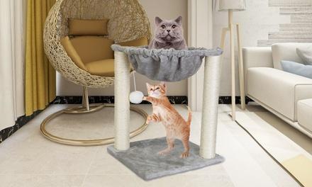 Cat Tower Bed, Kitten Scratch Post, Pet Hammock or Lounge