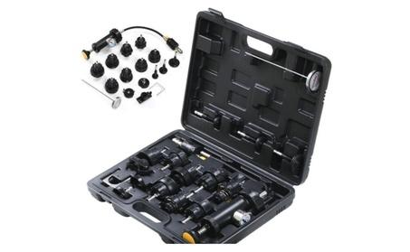 Topeakmart 18PCS Radiator Pressure Tester Vacuum Type Cooling Kit Car 6c482af5-6526-4d1d-ae5d-cb5d5a325975