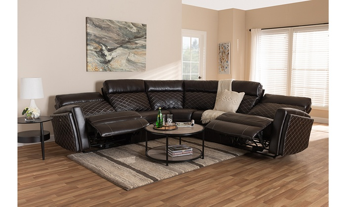 Alvar 3 Piece Power Recliner Sectional With 2 Reclining Seats And