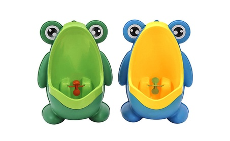 Cute Frog Potty Training Urinal for Boys with Funny Aiming Target 3a5d9a23-98d0-4fd9-b847-e7ff0bf66df9