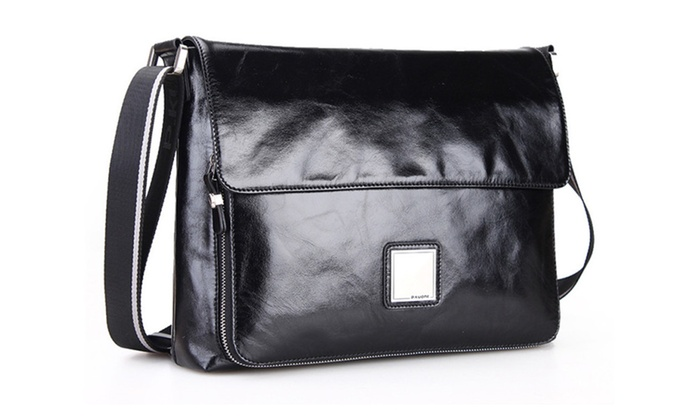 Shefetch Menu0026#39;s Casual Luxury Leather Formal Business Shoulder Bags   Groupon
