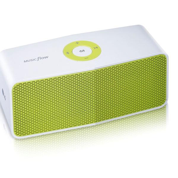 LG Electronics Music Flow P5 Portable Bluetooth Speaker - White/Lime  (NP5550WL)