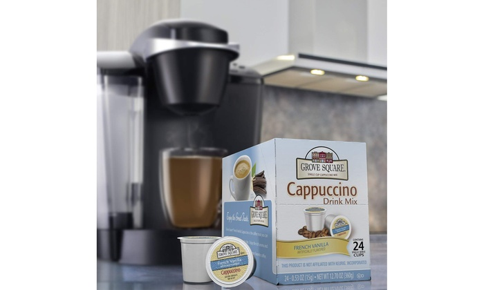 72 Single Serve Cups 72 Count Grove Square Cappuccino Variety Pack