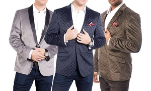 Elie Milano Italy Slim Fit Velvet Men's Blazer/Jacket B6