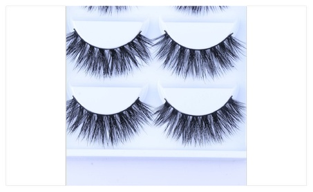 3D Eyelashe 100% Mink Hair Natural Thick Handmade 5335a9e8-6ee5-4559-8ff1-e6d3c7eda970