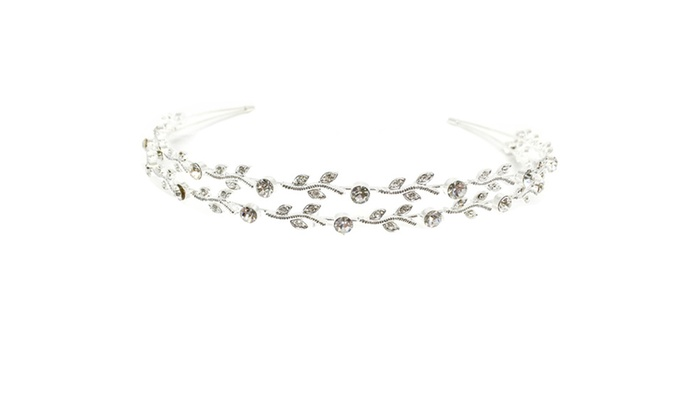 Damsell Rhinestone Tiara by Kate Marie
