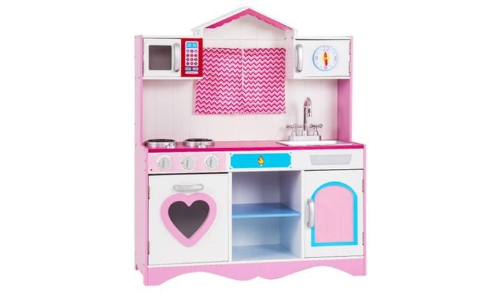 Wood Kitchen Toy Toddler