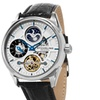 Stuhrling Original Men's Automatic Dual Time Strap Watch MW657S01O