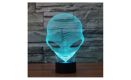 FLYMEI 3D Optical Illusion Desk Lamp Unique Night Light for Home Decor e0cb9a55-5073-4875-a059-c9b00fb11505