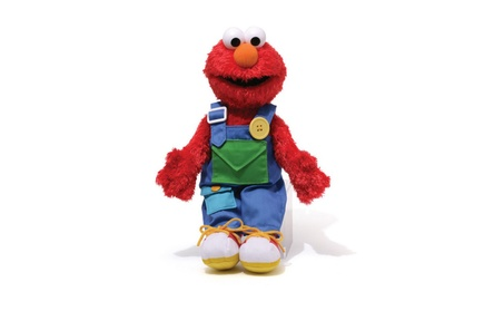 "Gund Sesame Street Teach Me Elmo 15"" Stuffed Animal 7536ad57-5525-450b-b185-aa927145fc33"