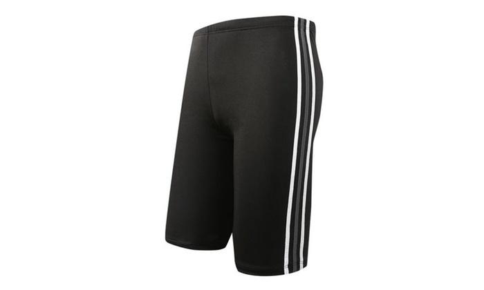70912dbb29 Men`s Rapid Swim Splice Quick Dry Jammer Swimsuit Shorts Man | Groupon