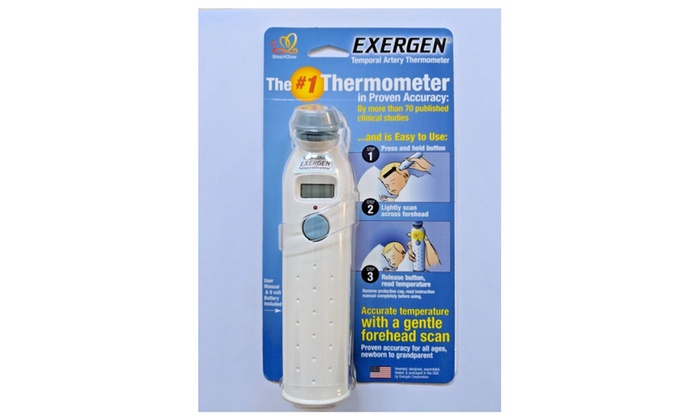 Exergen Temporal Artery Thermometer Tat 2000c Brand New Sealed