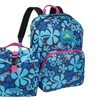 Peace Frogs Day Trippin' Backpack & Lunch Combo (Lava Flow Blue)