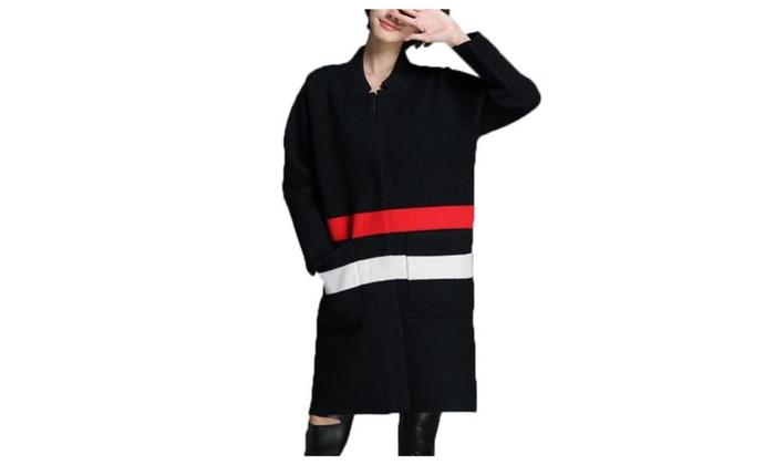 Women's Insulation Long Sleeve Casual Casual Wool Coat