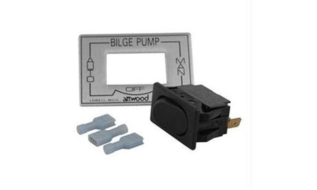Attwood 3-Way Auto/Off/Manual Bilge Pump Switch photo