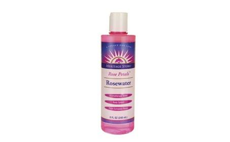 Liquid Rose Petals Rosewater Heritage Products Skin Care Toner