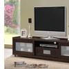 "Gerhardine Dark Brown 70"" TV Cabinet"