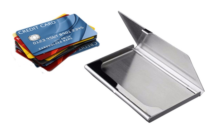 Elegant Credit Card Holder Keep Your Business Cards Clean