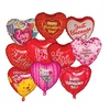 "18"" Mylar Valentine Balloon Assortment  (pack of 10)"