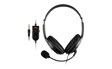 Insten Premium Gaming Headset Earphone with Mic for Sony PS4 Game
