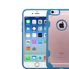 Insten Hard Crystal Tpu Cover Case For Apple Iphone 6 6s Clear Blue