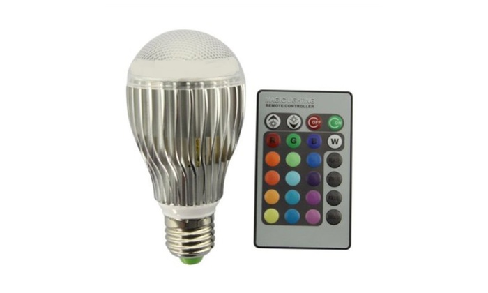 16 Colors Changing Magic Light LED Lamp Bulb With Remote Control